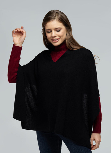 Silk and Cashmere Atlet Siyah